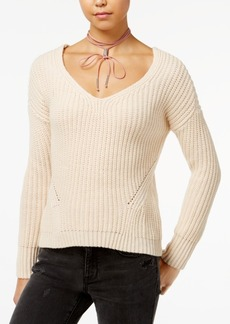 American Rag Lace-Up-Back Sweater, Created for Macy's