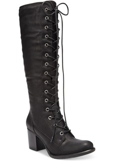 American Rag Lorah Lace-Up Boots, Only at Macy's Women's Shoes