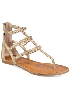 American Rag Madora Braided Gladiator Flat Sandals, Created for Macy's Women's Shoes