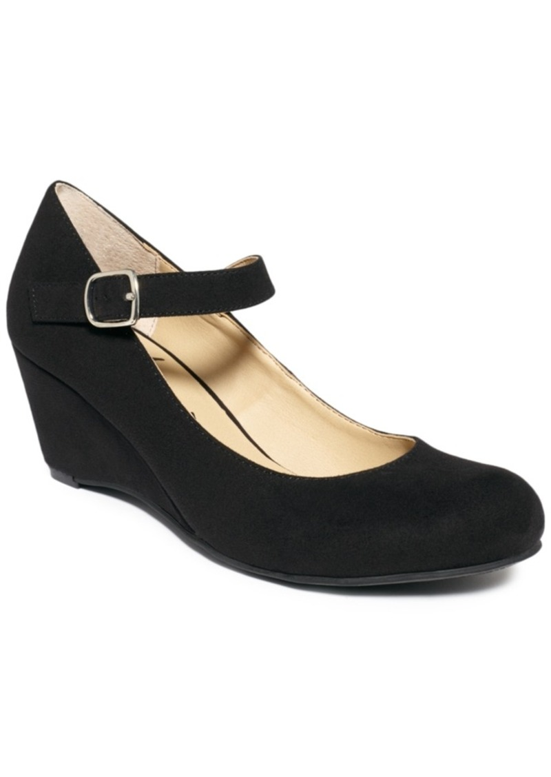 American Rag American Rag Meesha Mary Jane Wedges, Created for Macy's Women's Shoes ...