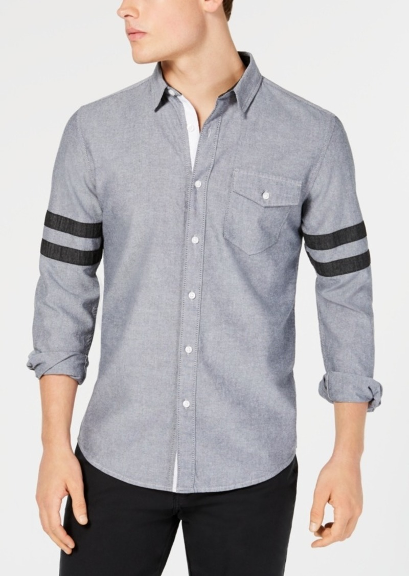 American Rag Men's Anderson Varsity Shirt, Created for Macy's