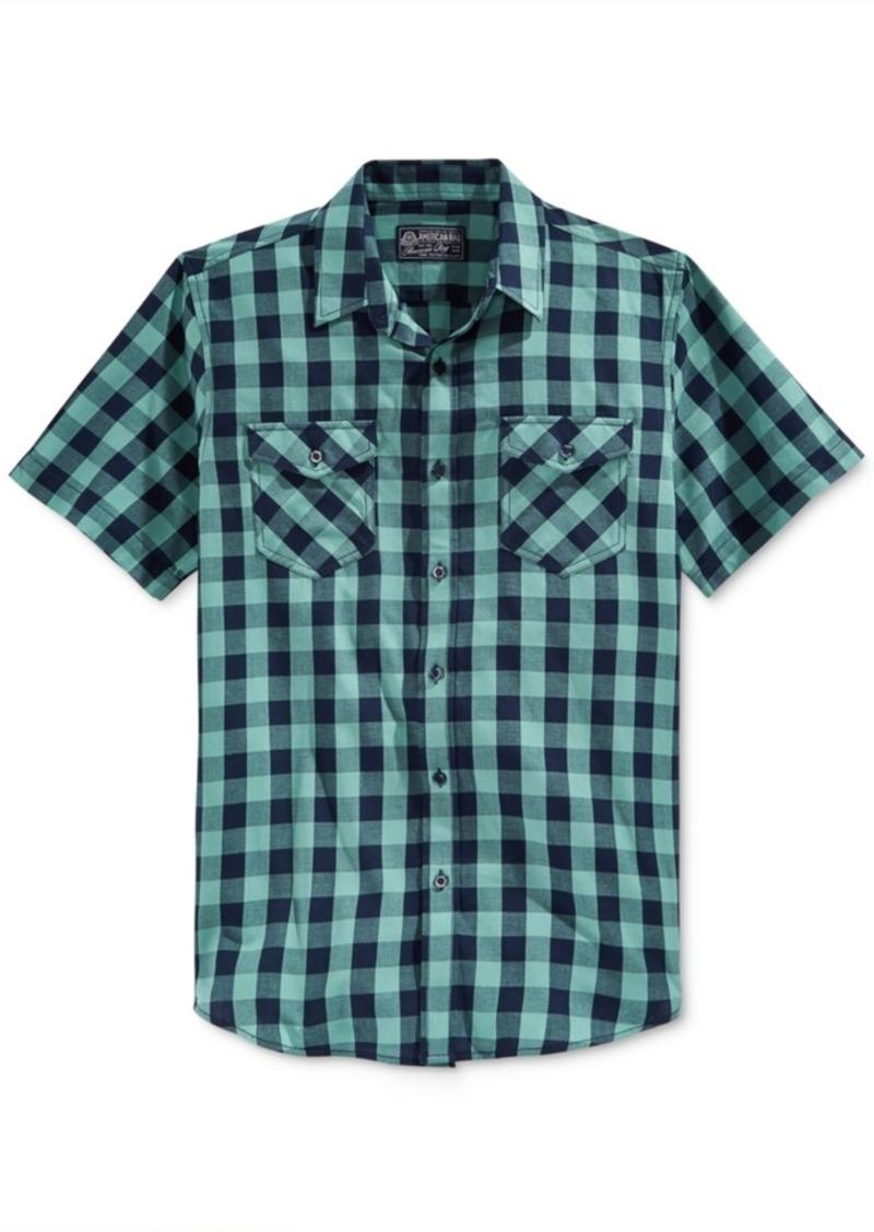 American Rag Men's Banarama Short Sleeve Shirt, Only at Macy's