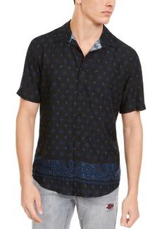 American Rag Men's Bandana Print Shirt, Created For Macy's