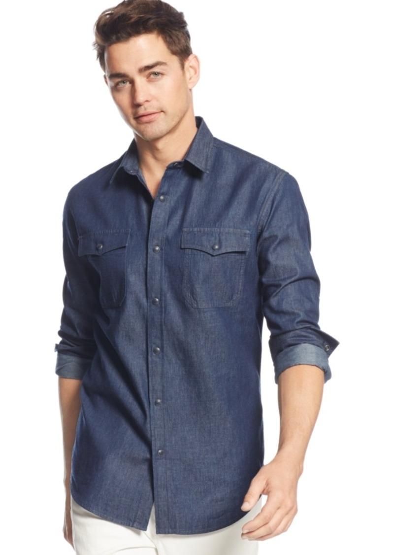 American Rag Men's Big & Tall Long-Sleeve Shirt, Only at Macy's