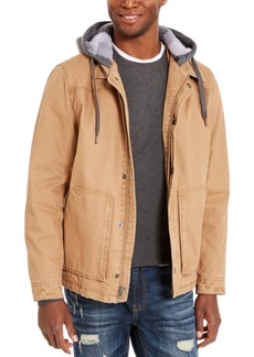 American Rag Men's Brushed Back Fleece Jacket, Created For Macy's