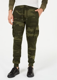 American Rag Men's Camo-Print Cargo Jogger Pants, Created for Macy's