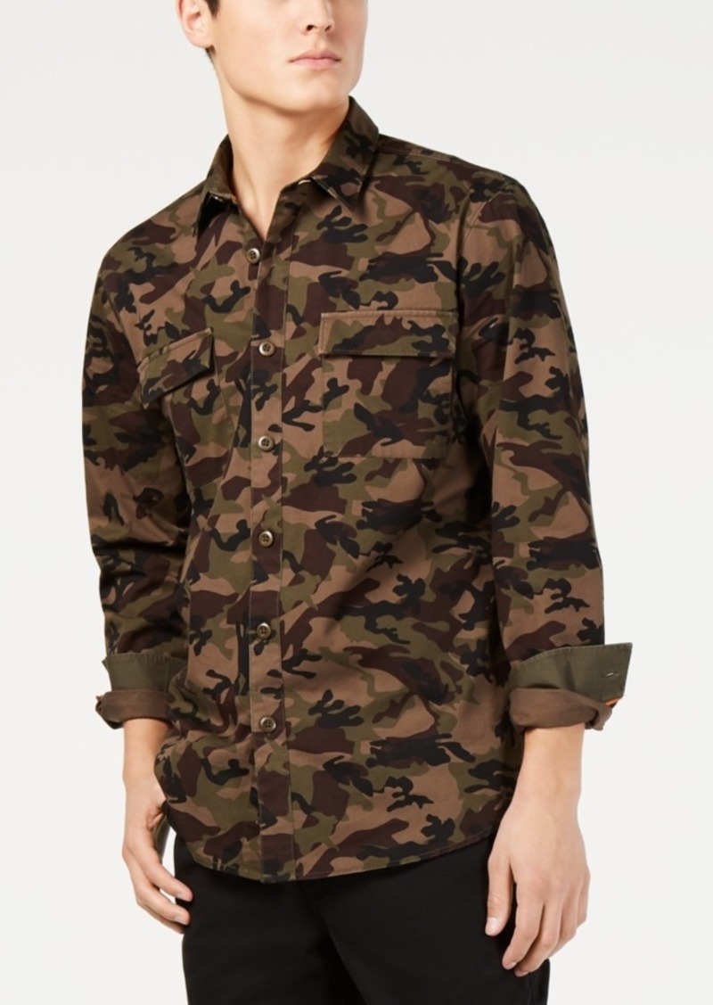 American Rag Men's Camo Shirt, Created for Macy's