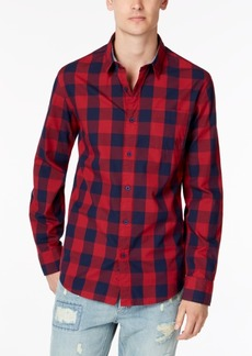 American Rag Men's Check Shirt, Created for Macy's