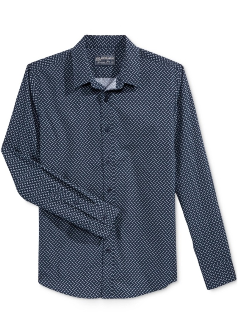 American Rag Men's Chainlink Neat Shirt, Only at Macy's
