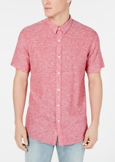 American Rag Men's Chambray Textured Shirt, Created for Macy's