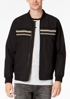 American Rag Men's Chest-Stripe Bomber Jacket, Created for Macy's