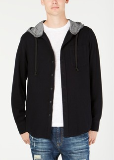 American Rag Men's Classic Fit Hooded Shane Shirt, Created for Macy's