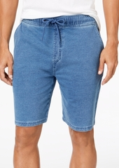 American Rag Men's Classic-Fit Stretch Denim Knit Shorts, Created for Macy's