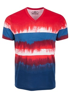 American Rag Men's Colorblocked Dip Dyed T-Shirt, Created for Macy's