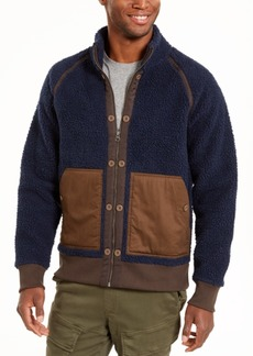 American Rag Men's Colorblocked Fleece Jacket, Created For Macy's