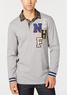 American Rag Men's Colorblocked Rugby Shirt, Created for Macy's