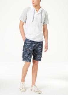 American Rag Men's Colorblocked Short-Sleeve Hoodie, Created for Macy's
