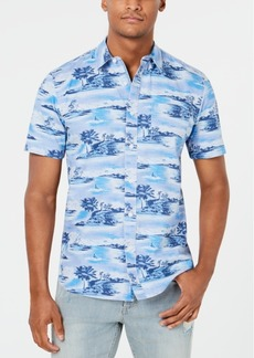 American Rag Men's Denim Beach Days Shirt, Created for Macy's