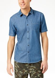 American Rag Men's Slim-Fit Denim Shirt, Created for Macy's