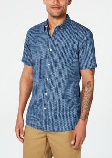 American Rag Men's Diamond Pattern Shirt, Created for Macy's