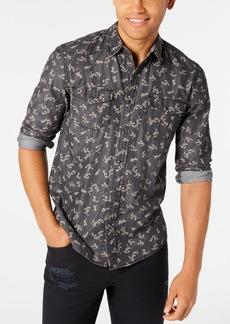 American Rag Men's Ditsy Floral Vine Shirt