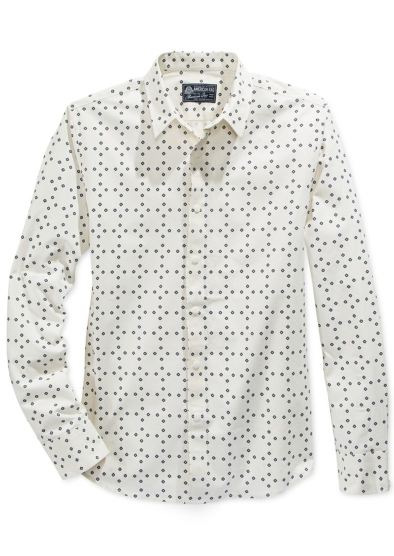 American Rag Men's Dot Shirt, Only at Macy's