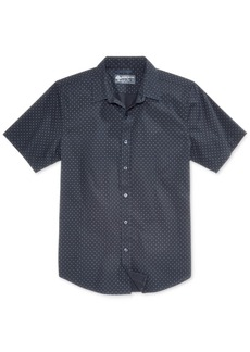American Rag Men's Dotty Geometric Print Shirt, Created for Macy's