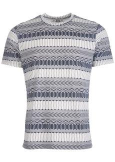 American Rag Men's Fair Isle T-Shirt, Created for Macy's