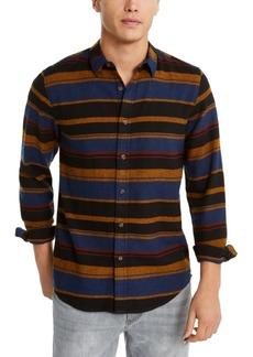 American Rag Men's Fay Stripe Flannel Shirt