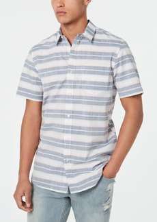 American Rag Men's Fin Striped Shirt, Created for Macy's