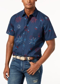 American Rag Men's Firework Shirt, Created for Macy's