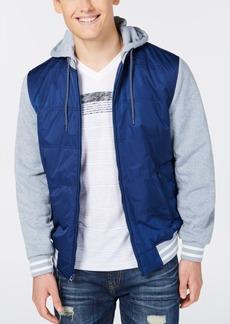 American Rag Men's Fleece Varsity Jacket, Created for Macy's