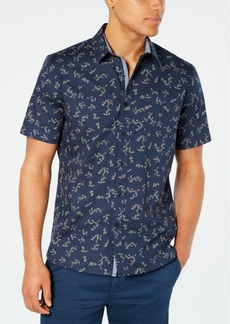 American Rag Men's Floral Vine Print Shirt, Created for Macy's
