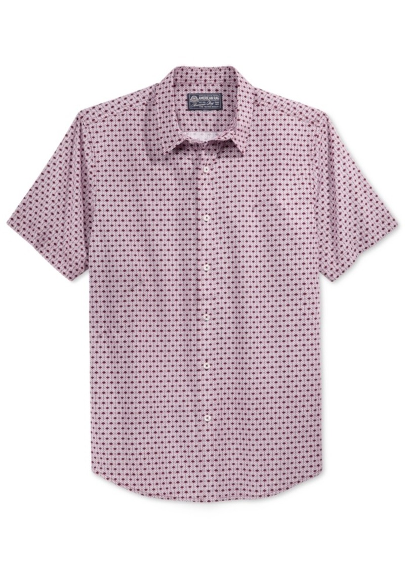 American Rag Men's Geometric-Print Shirt