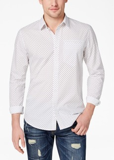 American Rag Men's Geometric Print Shirt, Created for Macy's