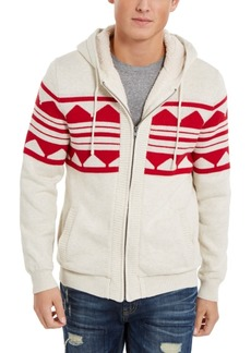 American Rag Men's Geometric Zip-Front Hoodie, Created For Macy's