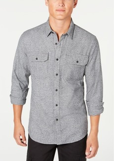 American Rag Men's Grindle Textured Shirt, Created for Macy's