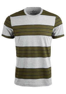 American Rag Men's Heather Stripe T-Shirt, Created For Macy's