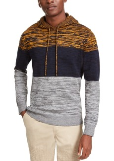 American Rag Men's Heathered Colorblocked Hoodie, Created For Macy's