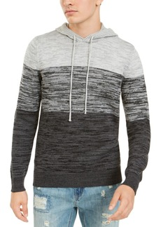 American Rag Men's Heathered Colorblocked Hoodie, Created For Macy's
