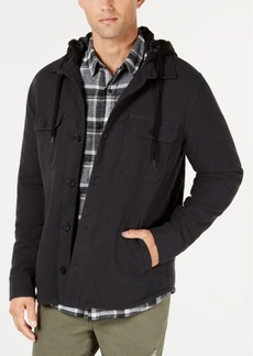 American Rag Men's Herald Twill Sherpa Jacket, Created for Macy's