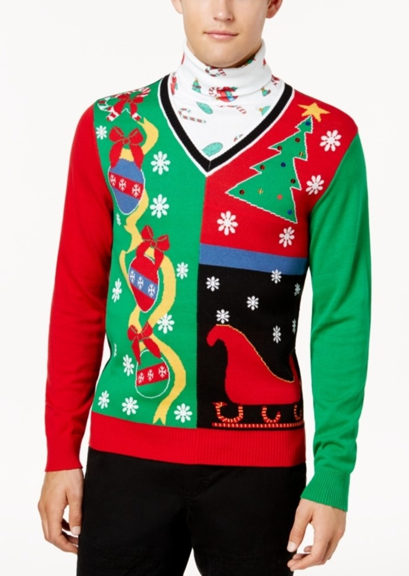 American Rag American Rag Men's Ugly Holiday Sweater, Created for ...