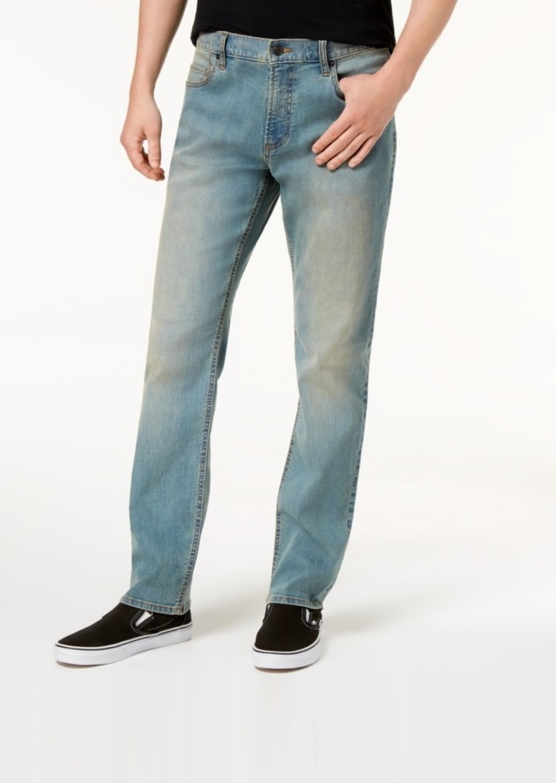 American Rag Men's Straight-Fit Stretch Jeans, Created for Macy's