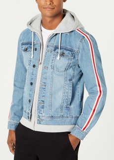 American Rag Men's Layered Hoodie & Denim Jacket, Created for Macy's