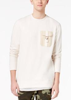 American Rag Men's Layered-Look Pocket Sweatshirt, Created for Macy's