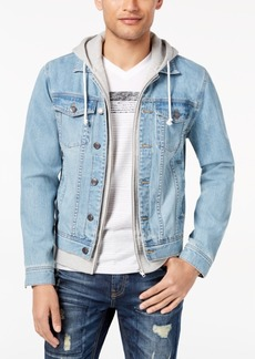 American Rag Men's Layered-Look Trucker Jacket, Created for Macy's