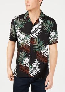 American Rag Men's Leaf Print Shirt, Created for Macy's