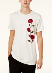 American Rag Men's Rose Embroidered T-Shirt, Created for Macy's