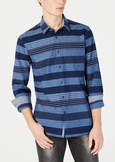 American Rag Men's Machina Striped Shirt, Created for Macy's