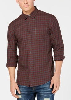 American Rag Men's Markus-Check Shirt, Created for Macy's